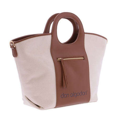 Bolso Don Algodon Natural